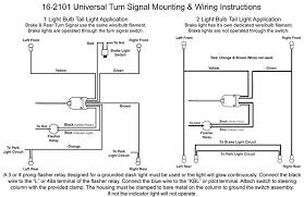 universal turn signal wiring diagram motorcycle turn signal wiring how to wire turn signals to a toggle switch at Universal Turn Signal Wiring Diagram