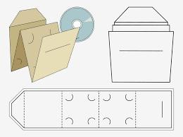 Cd Paper Case Cd Case Paper Craft Vector Art Graphics Freevector Com