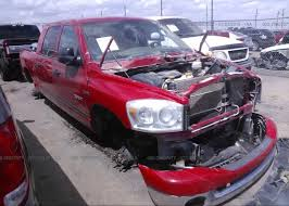 3D7KS19DX8G170801, Salvage Title red Dodge Ram 1500 at ...