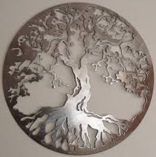gallery of large tree life metal wall art view 5 20 photos