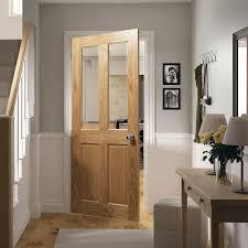 deanta bury clear glass internal door