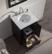 25 bathroom vanity with sink. Attractive 25 Bathroom Vanity With Regard To Ariel Adams Single Inch Transitional Set Black Plans 9 Sink T