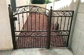Wrought Iron Fence Phoenix Choose From A Variety Of Styles And