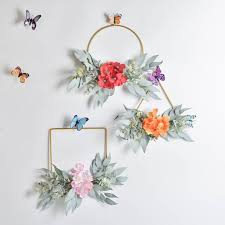 Wall Hanging Garland Decoration For Home Wedding Wrought Iron ...