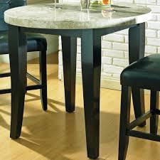 Marble Table Tops Round Monarch Marble Veneer Top Round Leg Table Belfort Furniture