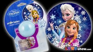 Frozen Night Light Projector Disney Frozen Projectables Night Light Elsa Anna Test Unboxing Toys Opening