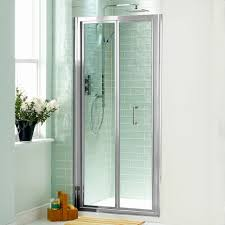 bifold glass shower doors lovely bi fold shower door will give your bathroom an upscale look