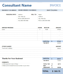 Sample Of Invoice For Consulting Services Sample Invoice Consulting Services Intersectionpublishing