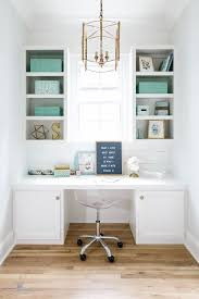 what is a small office. Bright White Pocket Office With Turquoise Accents What Is A Small Pinterest