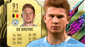 FIFA 21 De Bruyne Review - 91 Kevin De Bruyne Player Review - Fifa 21  Ultimate Team - YouTube