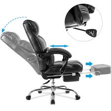 office naps. Merax Ergonomic Leather High Back Office Chair Big Tall Executive Recliner Napping-Black - Walmart.com Naps