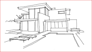 architecture house sketch. Fine Sketch A Sketch  Intended Architecture House Sketch R
