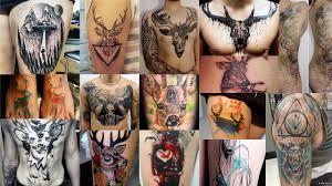 фото тату олень клуб татуировки фото тату значения эскизы