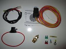 electric fan wiring kit electric fan wiring harness kit temp sensor 185 on 165 off