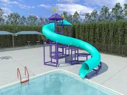 Diy Above Ground Pool Slide Round Designs