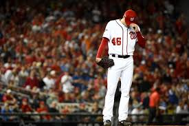 Washington Nationals Starters As Relievers Experiments