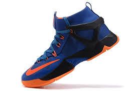 lebron 8 shoes. nike lebron james 8 ep basketball shoes in blue orange men viii a