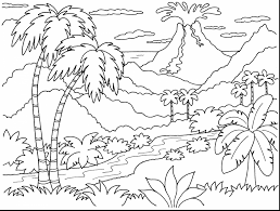 Small Picture Island Coloring Page itgodme