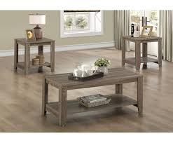 Loon Peak Jalen 3 Piece Coffee Table Set & Reviews
