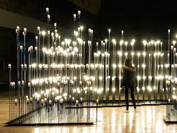 Small Picture Magical Interactive Garden Made of 1200 LED Lightbulbs