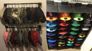 There are a variety of ways to store and/or display hats.