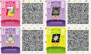 qr codes for Animal Crossing New Leaf ...