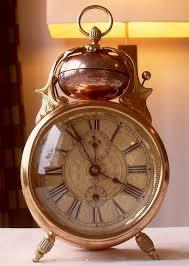 the most beautiful antique alarm clock u0027cherrieu0027 junghans made comes s53