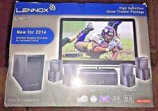 lennox home theater system. lennox ln-7 high definition 5.1 home theater speaker package system t
