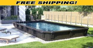wooden above ground pools swimming pool wood deck kits