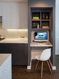 Built In Desk Designs Best Kitchen Hgtv Running And Kitchens