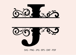 You can create a free account now. J Alphabet Split Font Monogram Graphic Graphic By Redcreations Creative Fabrica
