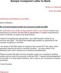 Complaints Letter Format 24 Complaint Letters Free Download