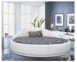 Apartment Furniture Soft Round Bed on Sale O6805#
