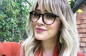 The holidays #giveaway to end the year beautifully we will offer one (1) lucky winner a pair of glasses from our muse x hilary duff collection.well let's be honest we're better at making glasses if you too tried to make glasses shaped christmas cookies send us your pictures in the comment. Hilary Duff Reveals That She Has Pierced Her Eight Month Old Baby S Ears