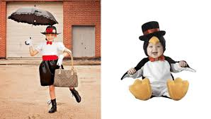 simple costume ideas creative costumes for siblings mary poppins and penguin