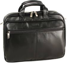 black leather briefcases kenneth cole reaction leather portfolio briefcase