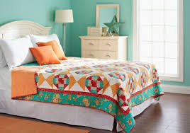 Free Bed Quilt Patterns | AllPeopleQuilt.com & Greet the Morning Adamdwight.com