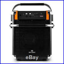 sound system wireless: dj pa portable active speaker sound system wireless bluetooth usb fm radio tuner