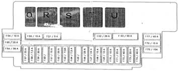 mercedes cl class c215 fuse box diagram auto genius mercedes