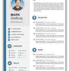 Download Cv Template Word New Word Resume Template Free