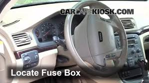 interior fuse box location volvo s volvo s interior fuse box location 1999 2006 volvo s80
