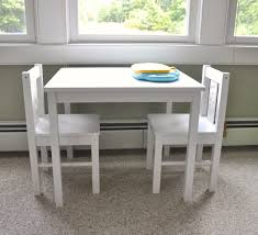 elegant kids dining table and chairs 4 childrens glamorous white wooden children with hardwood