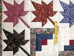 77 best Leaves images on Pinterest | Projects, Fashion and Kitchen & Autumn Splendor Log Cabin Quilt Photo 4 Adamdwight.com