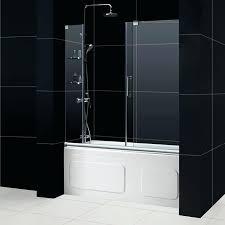 frameless sliding shower doors mirage tub door frameless sliding shower doors