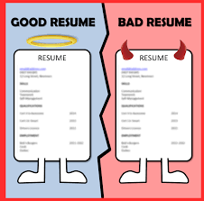 Good Resume Examples Poor Resume Examples Good Resume Format 12