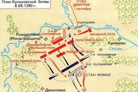 Куликовская битва кратко дата события значение карта куликовской битвой
