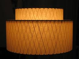 Mid-Century and Retro Fiberglass 1950s Lampshades