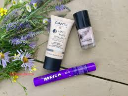 Моё первое знакомство с декоративной косметикой <b>Sante</b> ...