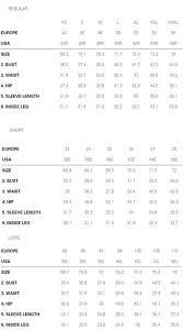Hugo Boss Shirt Size Chart Uk Hugo Boss Mens Polo Size Guide Rldm