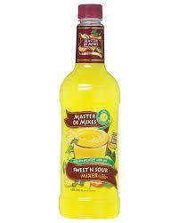 Buy Master of Mixes Sweet & Sour Mixer 1L